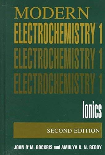 9780306465970: Modern electrochemistry
