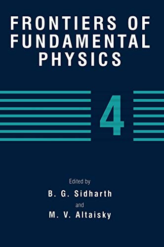 Frontiers of Fundamental Physics 4 No. 4