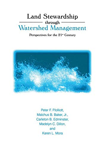9780306466984: Land Stewardship through Watershed Management: Perspectives for the 21st Century