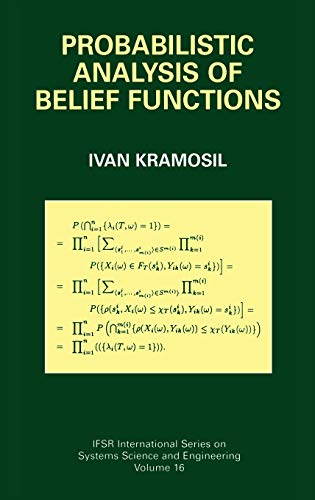 9780306467028: Probabilistic Analysis of Belief Functions (IFSR International Series in Systems Science and Systems Engineering)