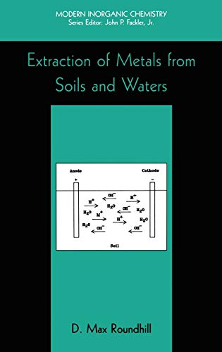 9780306467226: Extraction of Metals from Soils and Waters (Modern Inorganic Chemistry)