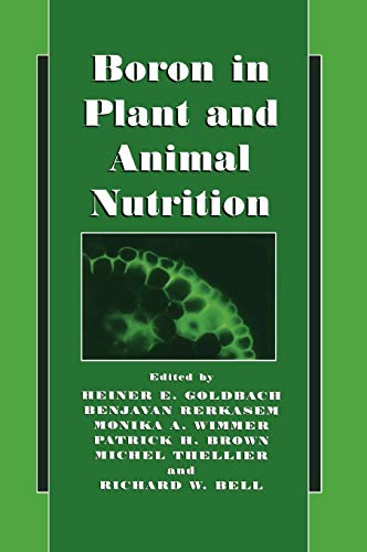 9780306472435: Boron in Plant and Animal Nutrition