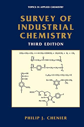 9780306472466: Survey of Industrial Chemistry (Topics in Applied Chemistry)