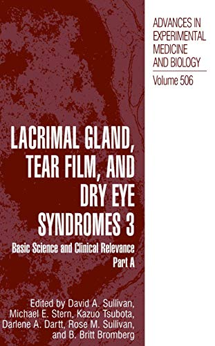 9780306472824: Lacrimal Gland, Tear Film and Dry Eye Syndromes 3 (Volume 506) Set of 2 Books: Parts A & B (v. 3)