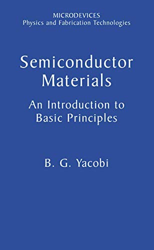 9780306473616: Semiconductor Materials: An Introduction to Basic Principles (Microdevices)