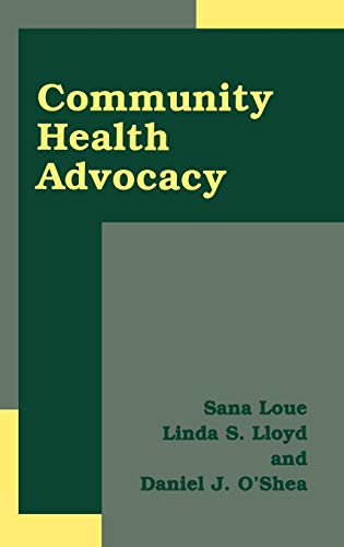 9780306473906: Community Health Advocacy