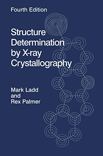 9780306474545: Structure Determination by X-ray Crystallography