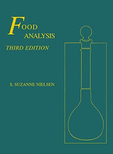 9780306474958: Food Analysis (Food Science Texts Series)
