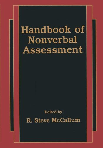 9780306477157: Handbook of Nonverbal Assessment