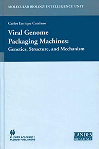 Viral Genome Packaging Machines: Genetics, Structure, and Mechanism (Hardcover): Carlos Enrique ...