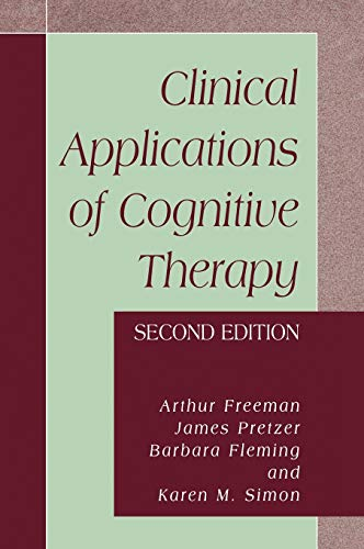 9780306484629: Clinical Applications of Cognitive Therapy, Second Edition