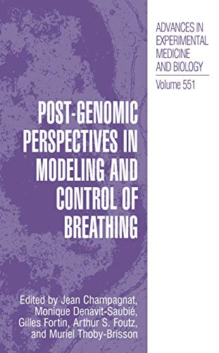 Post Geno Mic Perspectives In Modeling And Control Of Breathing - Advances In Experimental Medicine...