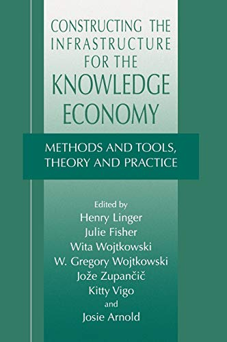 Constructing The Infrastructure For The Kno Wledge Economy: Methods And Tools, Theory And Practice ...