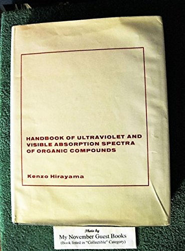 9780306651236: Handbook of Ultraviolet and Visible Absorption Spectra of Organic Compounds
