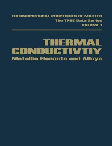 Thermal Conductivity: Metallic Elements and Alloys (Thermophysical: Yeram Sarkis Touloukian