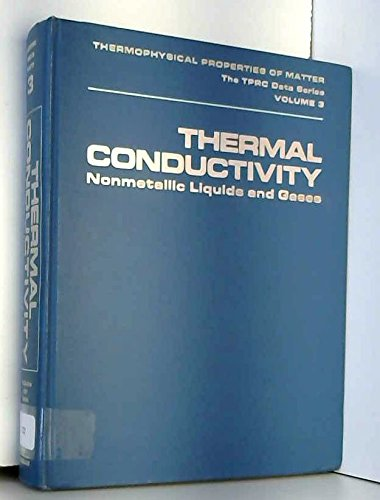 Thermal conductivity: nonmetallic liquids and gases (Thermophysical: Y. S Touloukian