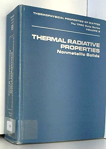 Thermal radiative properties: nonmetallic solids (Thermophysical properties: Y. S Touloukian