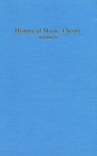 9780306706370: History of Music Theory, Books I and II