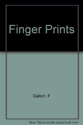 9780306709104: Finger Prints