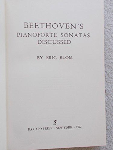 9780306710599: Beethoven's Pianoforte Sonatas Discussed