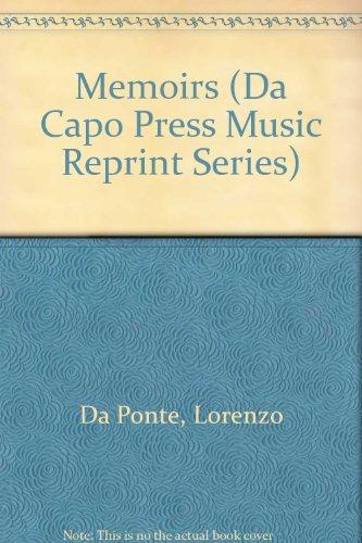 9780306762901: Memoirs (Da Capo Press Music Reprint Series)