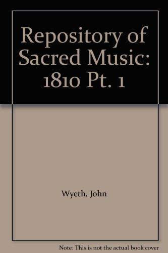 9780306770012: Wyeth Sacred Mus Pt1