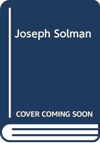 9780306796654: Joseph Solman: A Monograph