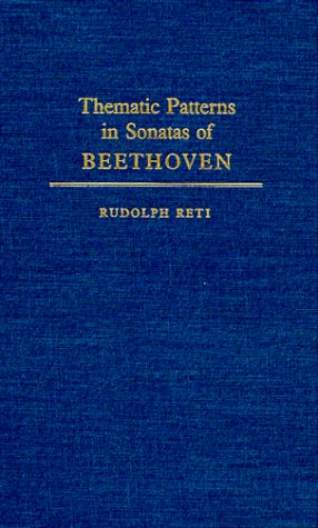 9780306797149: Thematic Patterns In Sonatas Of Beethoven (Music Reprint Series)