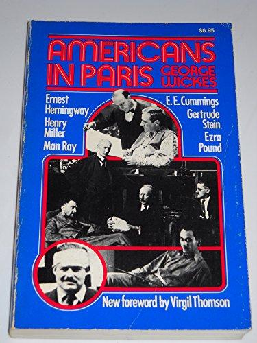 9780306801273: Americans in Paris (Da Capo Paperback)