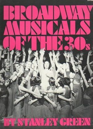 9780306801655: Broadway Musicals of the 30's