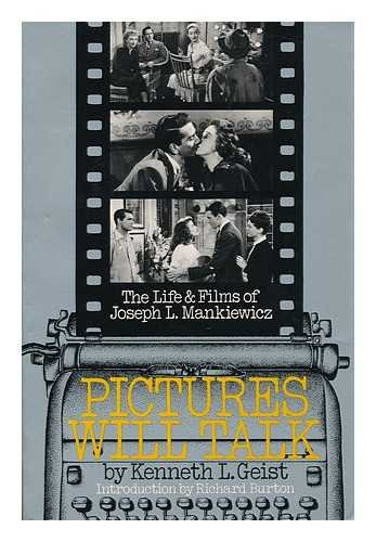 9780306801884: Pictures Will Talk: The Life And Films Of Joseph L. Mankiewicz (A Da Capo paperback)