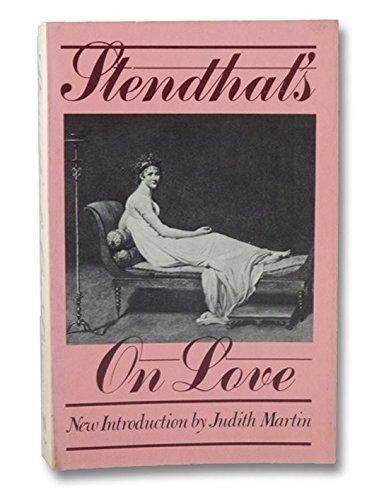 Stendhal's: On Love: Stendhal, Marie-Henri Beyle,