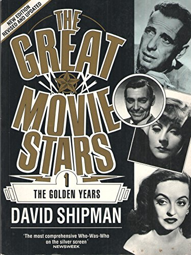 9780306802478: The Great Movie Stars: The Golden Years (A Da Capo paperback)