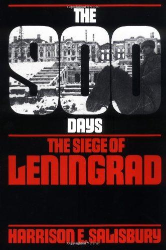9780306802539: The 900 Days: The Siege Of Leningrad (A Da Capo Paperback)