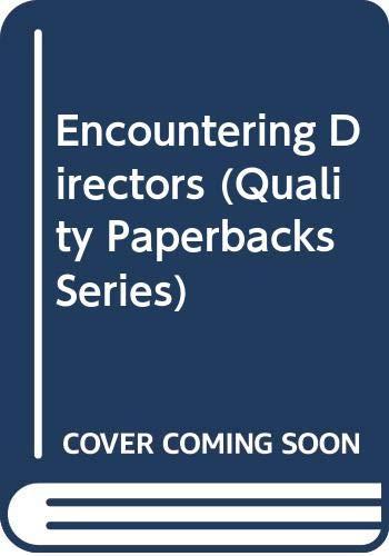 9780306802867: Encountering Directors (Quality Paperbacks Series)