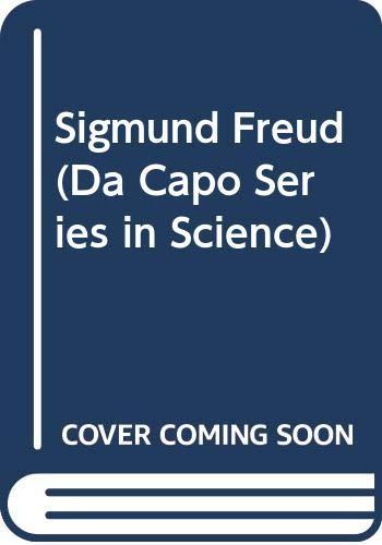 9780306802928: Sigmund Freud (Da Capo Series in Science)