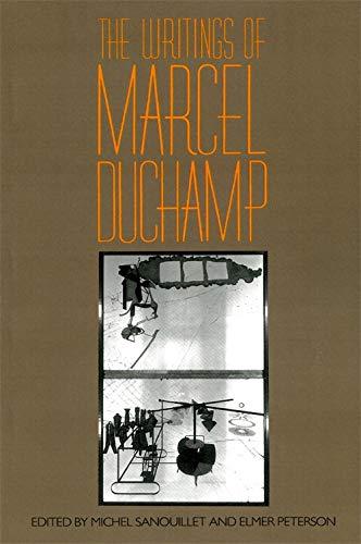 The Writings of Marcel Duchamp: Duchamp, Marcel; Sanouillet,