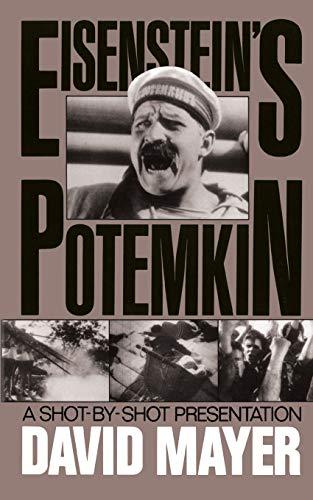 9780306803888: Sergei M. Eisenstein's Potemkin: A Shot-by-shot Presentation (A Da Capo paperback)