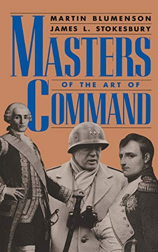9780306804038: Masters Of The Art Of Command (A Da Capo paperback)