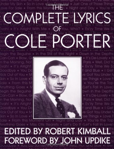 9780306804830: The Complete Lyrics Of Cole Porter