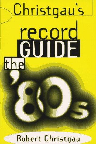 9780306805820: Christgau's Record Guide