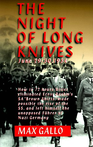 9780306807602: The Night Of The Long Knives: June 29-30, 1934