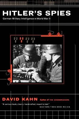9780306809491: Hitler's Spies: German Military Intelligence In World War II