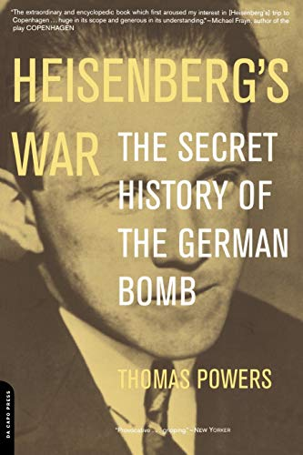 9780306810114: Heisenberg's War: The Secret History Of The German Bomb