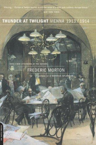 9780306810213: Thunder At Twilight: Vienna 1913/1914