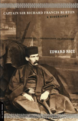 9780306810282: Captain Sir Richard Francis Burton: A Biography