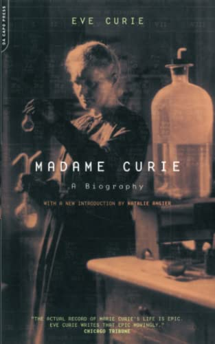 9780306810381: Madame Curie: A Biography (The Da Capo Series in Science)