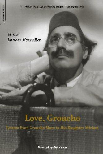 9780306811036: Love, Groucho: Letters From Groucho Marx To His Daughter Miriam