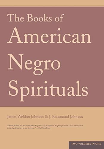 9780306812026: The Books of the American Negro Spirituals