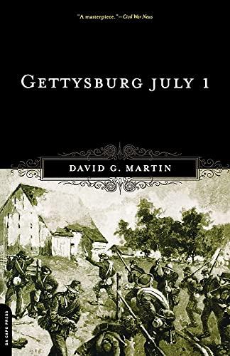 9780306812408: Gettysburg July 1